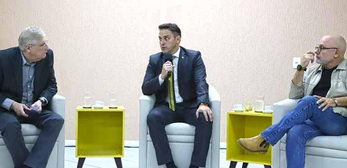 eputado estadual Luciano Zucco PSL 4 - Deputado Luciano Zucco palestrou na Associação Comercial em São Leopoldo