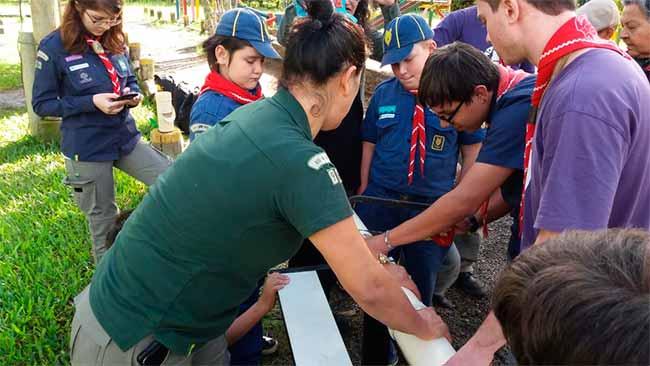 escoteirossl - Escoteiros de Sapucaia do Sul participam de projeto em São Leopoldo