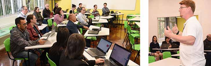 foto novo ava turma6 1 - Pró-Reitoria Acadêmica da UCS lança o novo Ambiente Virtual de Aprendizagem