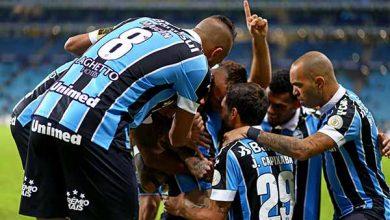 grêmio vence atlético mineiro 390x220 - Grêmio vence o Atlético-MG na Arena pelo Brasileirão