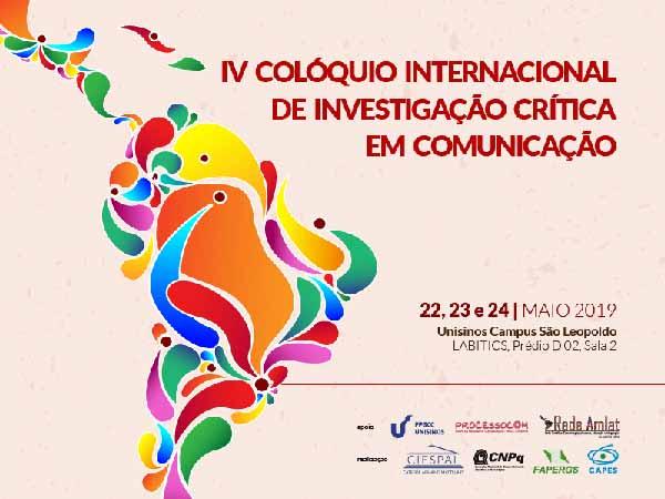 investigações críticas em comunicação Unisinos 1 - Evento internacional: investigações críticas em comunicação na Unisinos