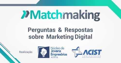 jovens empresarios promovem matchmaking - Jovens empresários promovem Matchmaking
