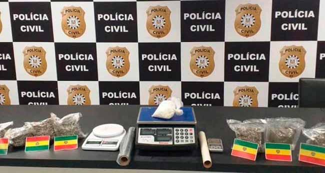 lab drogas sl - Polícia Civil desativa laboratório de drogas no Santos Dumont, em São Leopoldo