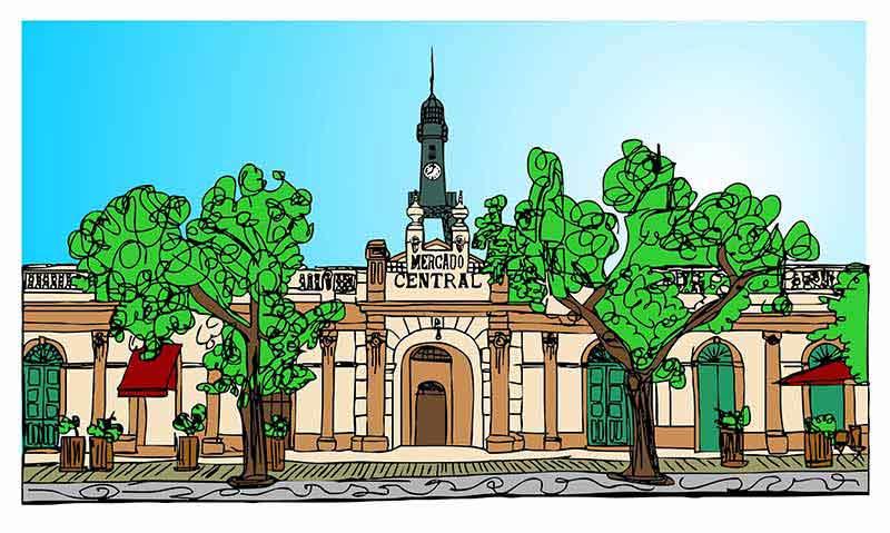 mercado central - Patrimônio de Pelotas será representado na Fenadoce 2019 com arte e tecnologia