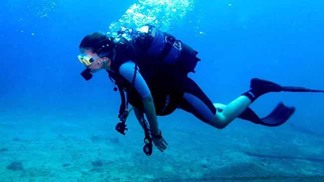 merg - Prática de mergulho e a dor nas costas