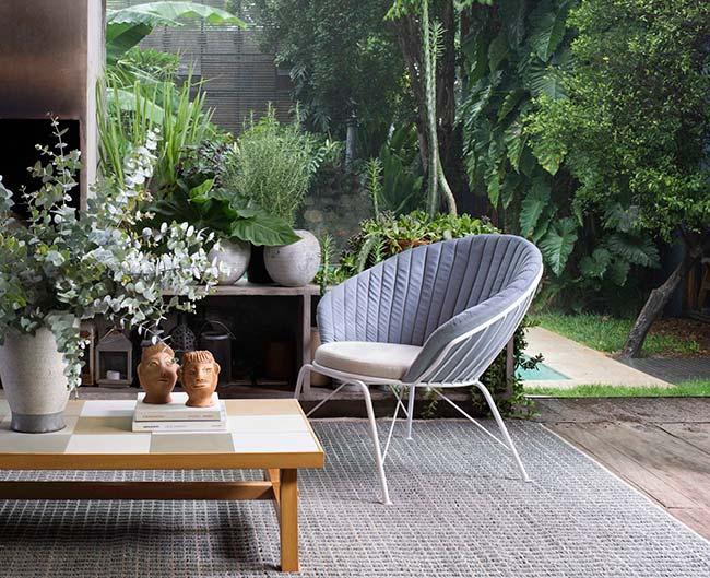 mesa de centro barbacena poltrona leque tapete quadrile - Designer Fernando Jaeger lança novas linhas de móveis