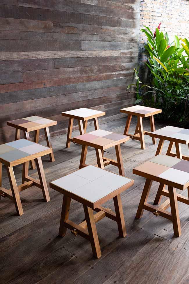 mesa lateral barbacena - Designer Fernando Jaeger lança novas linhas de móveis