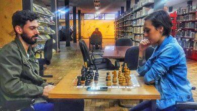 mesas de xadrez da Biblioteca Municipal 390x220 - Xadrez da Biblioteca Municipal de São Leopoldo