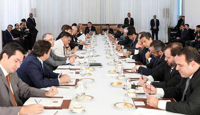 minist - Bolsonaro reúne ministros na 11ª Reunião do Conselho de Governo