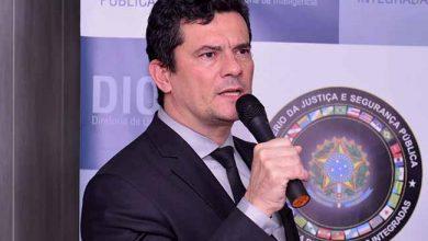 moro 390x220 - Ministro Sergio Moro inaugura Centro Integrado de Inteligência
