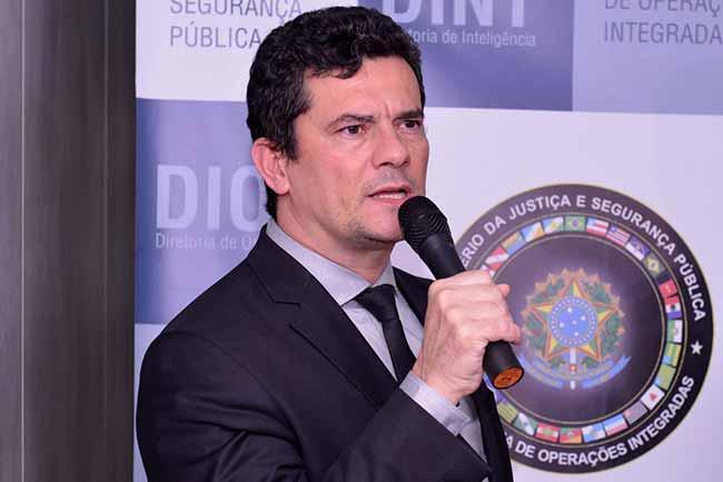 moro - Ministro Sergio Moro inaugura Centro Integrado de Inteligência