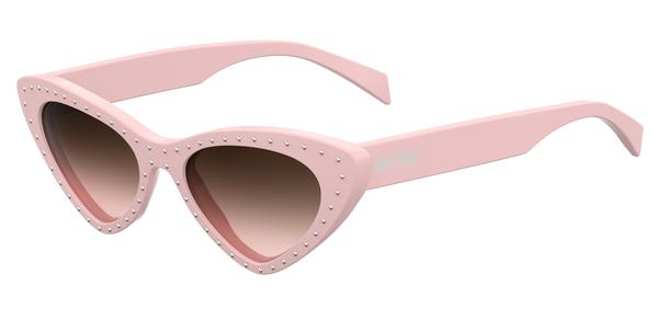 moschino   mos006s 200799035j53 r00 r  995 00 web  - Kacey Musgrave usa óculos Moschino no Met Gala 2019