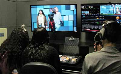 oficinas de Audiovisual 1 - Jovens das oficinas de Audiovisual da Prefeitura tem aula prática na Feevale