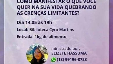 palestra sobre crenças limitantes 390x220 - Biblioteca Cyro Martins de Gramado promove palestra