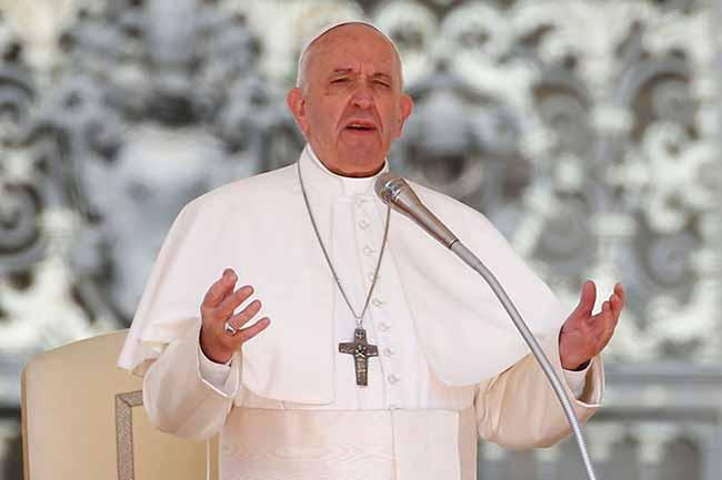 papa - Papa Francisco diz que desemprego é tragédia mundial