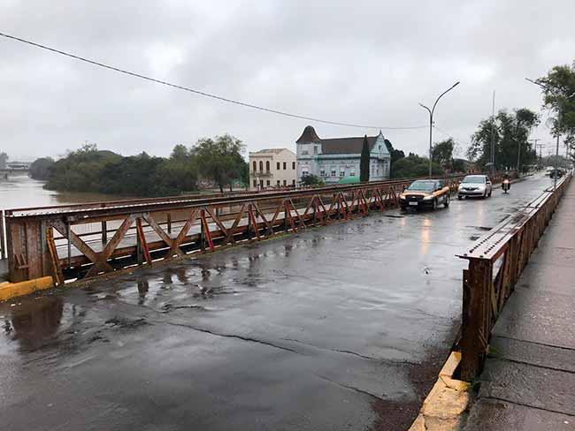 ponte 25dejulho - Ponte 25 de julho em São Leopoldo será fechada