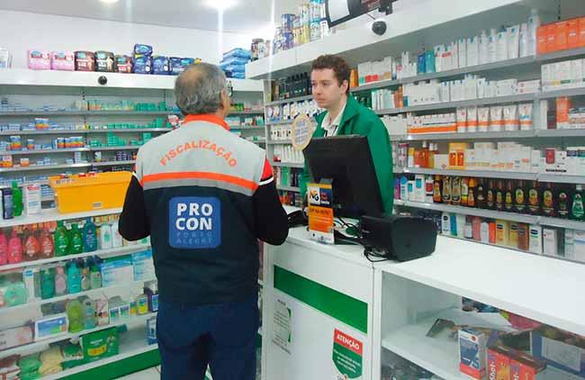 procon poa - Procon Porto Alegre revela variação de 200% nos preços de remédios