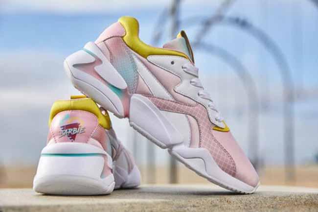 puma barbie - PUMA homenageia os 60 anos da Barbie com novo tênis