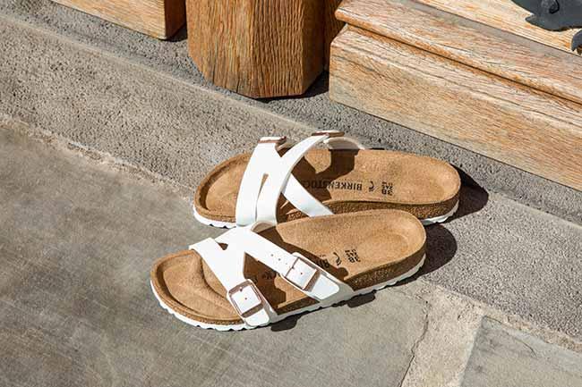 sandália de tira tripla e design moderno é novidade na coleção Outono Inverno 1 - Birkenstock Yao: sandália de tira tripla é novidade na coleção Outono-Inverno