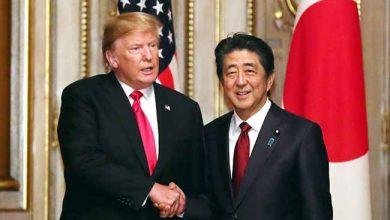 trumptoquio 390x220 - Trump se reúne em Tóquio com premiê japonês