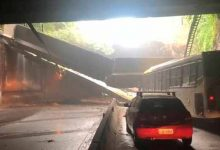 tunel rio 220x150 - Desabamento fecha túnel no Rio de Janeiro