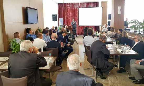 vga seguradores1 - Presidente da ACI apresenta a história da entidade no Almoço do Mercado Segurador