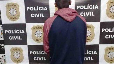 preso em Canoas 390x220 - Suspeito de diversos roubos a estabelecimentos comerciais é preso em Canoas
