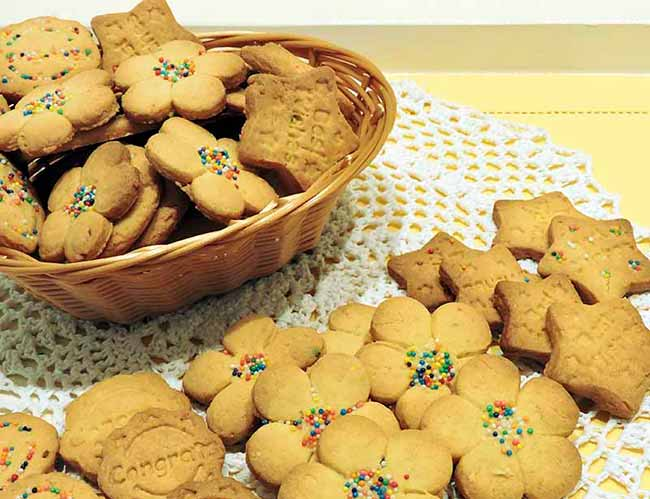 Biscoitos de laranja - Biscoitos de laranja
