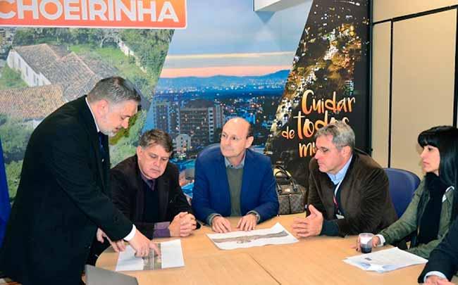 Cachoeirinha acesso freeway - CCR ViaSul apresenta projeto das alças de acesso de Cachoeirinha à Freeway