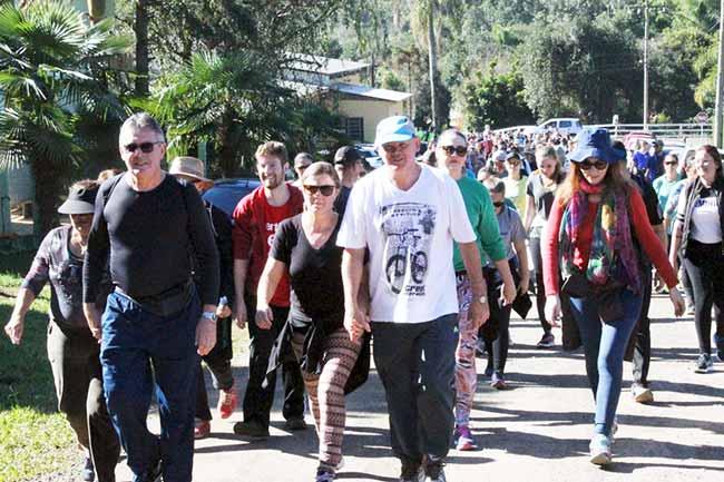 Caminhada ecológica neste sábado em Ivoti - Caminhada ecológica neste sábado em Ivoti