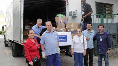 Campanha do Agasalho ghc 390x220 - Grupo Hospitalar Conceição entrega arrecadações da Campanha do Agasalho