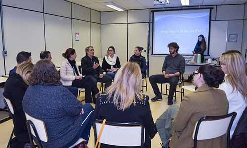 Caxias da Paz 1 - Programa Caxias da Paz recebe comitiva da Prefeitura de Novo Hamburgo e da Feevale