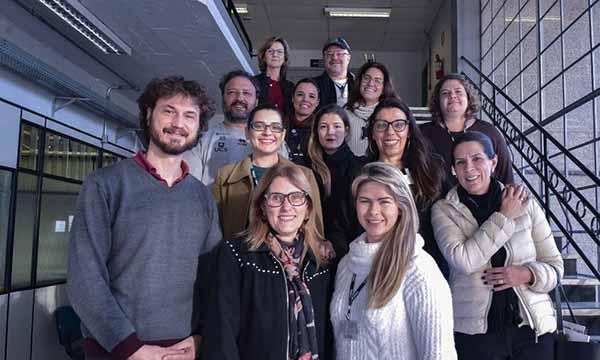 Caxias da Paz - Programa Caxias da Paz recebe comitiva da Prefeitura de Novo Hamburgo e da Feevale