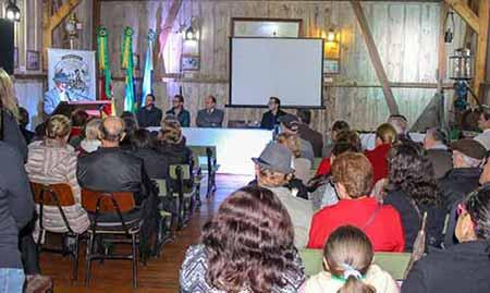 Cerimônia comemora os 100 anos chegada do trem em Gramado 3 - Gramado comemora os 100 anos da chegada do trem
