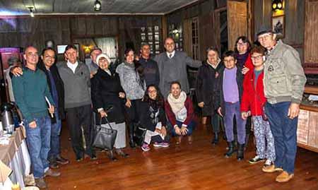Cerimônia comemora os 100 anos chegada do trem em Gramado - Gramado comemora os 100 anos da chegada do trem