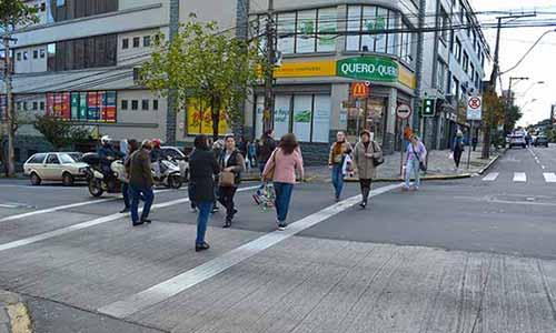 Contadores digitais regressivos para pedestres 5 - Contadores digitais regressivos para pedestres são instalados em novos pontos de Caxias do Sul