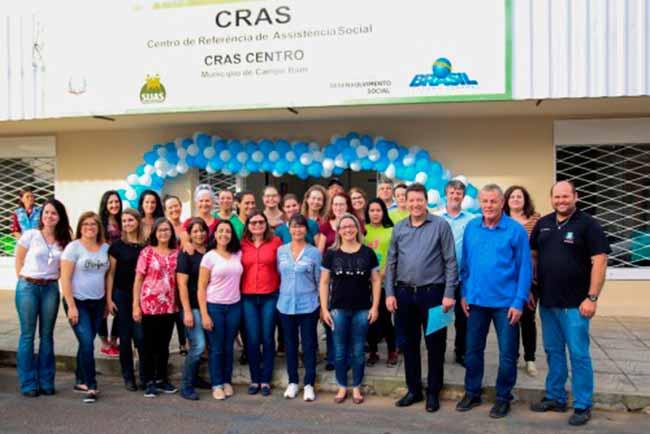 Cras e do Creas - Campo Bom inaugura prédio do Cras e do Creas