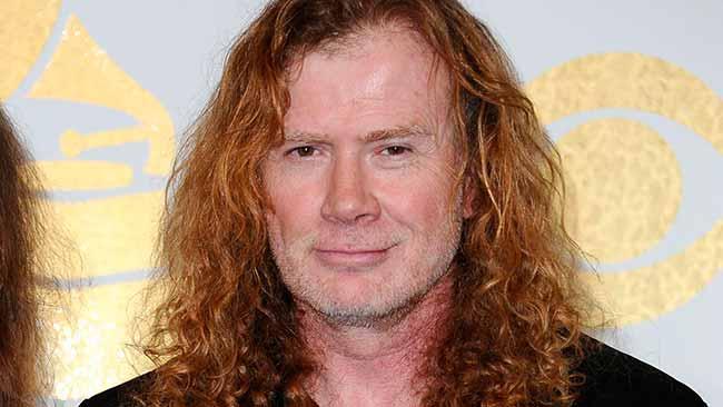 Dave Mustaine - Câncer de garganta: atenção aos sintomas!