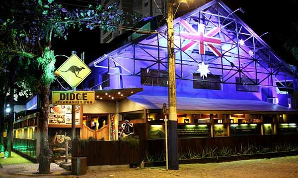 Didge em Balenário Camboriú - Restaurantes temáticos de Balneário Camboriú investem em menu especial para o Dia dos Namorados