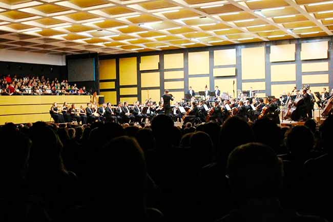 Escola de Música da OSPA promove concerto de estreia da Banda Sinfônica - Escola de Música da OSPA apresenta sua Banda Sinfônica