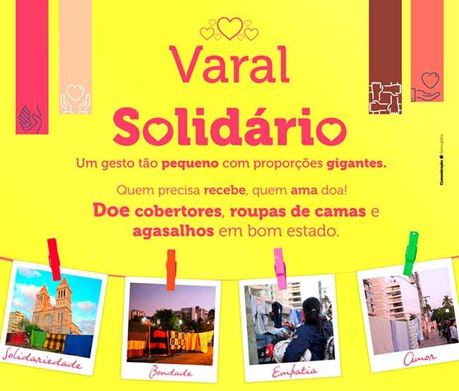 Farroupilha varal - Varal Solidário é amanhã em Farroupilha