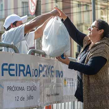 Feira do Peixe Vivo Caxias do Sul 3 - Feira do Peixe Vivo comercializa 350 quilos na edição do mês de junho