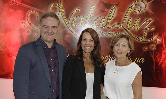 Foto Edson Nespolo Caudia Casagrande e Iara Sartori - Conceito e projeto cenográfico do 34º Natal Luz será apresentado
