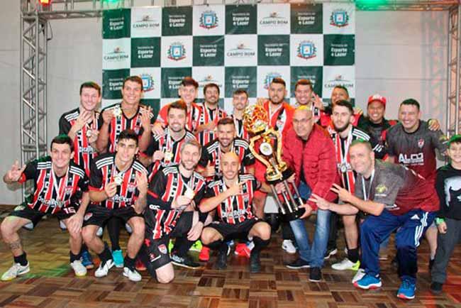 Futsal Série Ouro - Campo Bom: Atlético é campeão do Municipal de Futsal Série Ouro