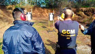 Photo of São Leopoldo: guardas municipais finalizam curso para uso de pistola