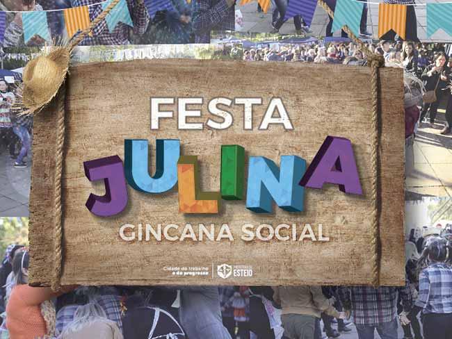 Gincana Julina Social - Esteio: Gincana Julina Social abre inscrições amanhã
