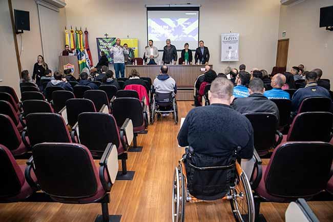 II Fórum Paralímpico de Canoas - II Fórum Paralímpico de Canoas