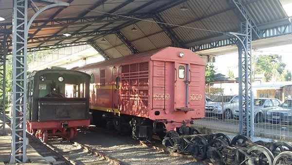 MUSEU DO TREM EM SAO LEOPOLDO 1 - Prefeitura de Santa Cruz do Sul quer revitalizar locomotiva