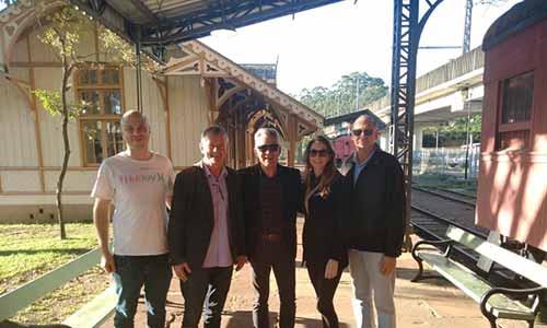 MUSEU DO TREM EM SAO LEOPOLDO - Prefeitura de Santa Cruz do Sul quer revitalizar locomotiva