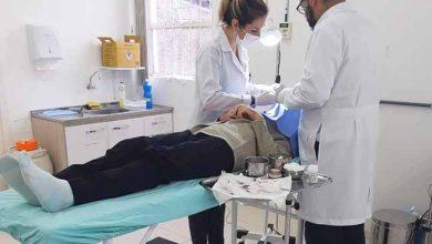 Mutirão de dermatologia 390x220 - Dois Irmãos: mutirão de dermatologia atendeu 36 pessoas no sábado